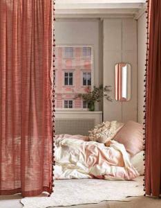 Idées déco rideau separation studio