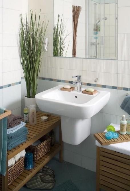 Salle de bain adaptée à l'agencement appartement ou studio