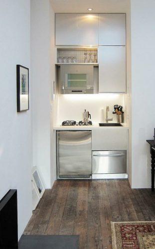 Aménagement petit espace : optimiser une cuisine de studio